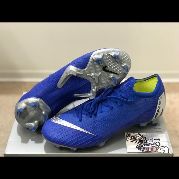 bc61d02f8 NEW Nike Vapor 12 Elite FG 360 ACC Blue Mercurial